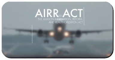 airr act aviation innovation reform reauthorization