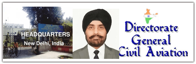 Director General, B.S. Bhullar--the building and DGAC