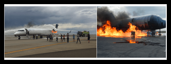 Firefighter provides insight on B737NG gull wing exits | JDA