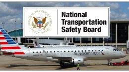 Republic EMB 175 and NTSB