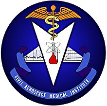 civil aerospace medical institute logo