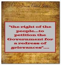 the right to petition