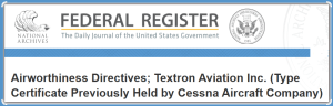 Federal Register page