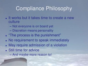 compliance policy