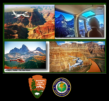 parks overflights, NPS and FAA