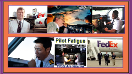 FedEx Pilots and fatigue