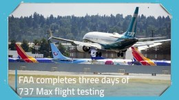 B-737 Max 8 Flight Test