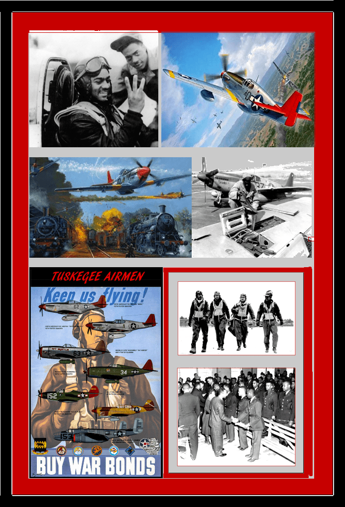 pictures of Tuskegee Airman