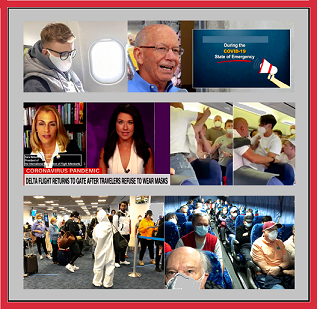 Rep. DeFazio, AFA President Sra Nelson, masked/unmasked people.