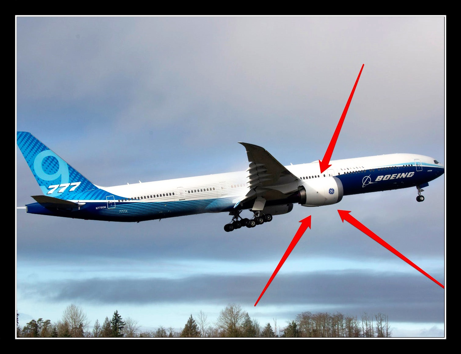 B-777 with GE9X