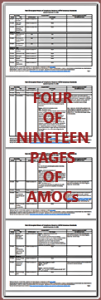 19 AMOC pages