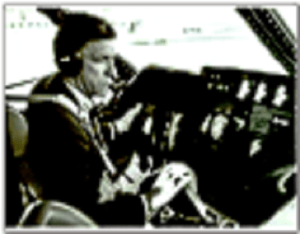 halaby in cockpit