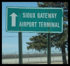 SUX entrance sign