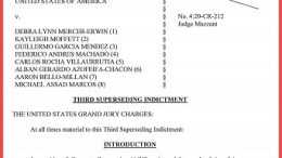 US Attorney indictment