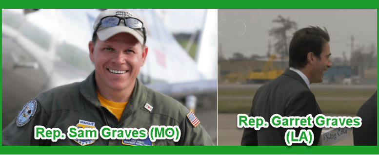 Rep. Graves and Rep. Graves