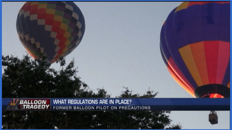 Balloon safety regs in place?