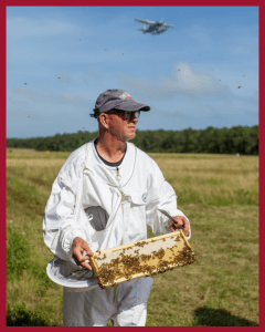 Chris Kelly of Promise Land Apiaries