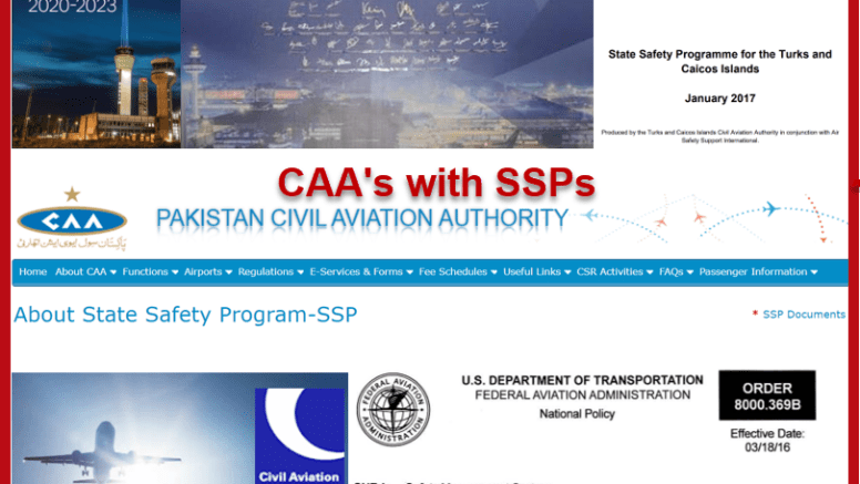 CAAs with SSPs