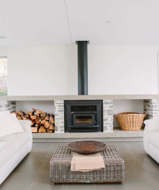 Beacon Point house Interiors and Details
