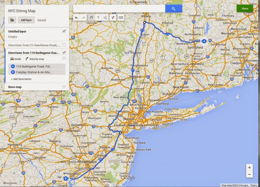 Map Of I 84 New York.How To Drive An Rv Through The New York City Area J Dawg Journeys