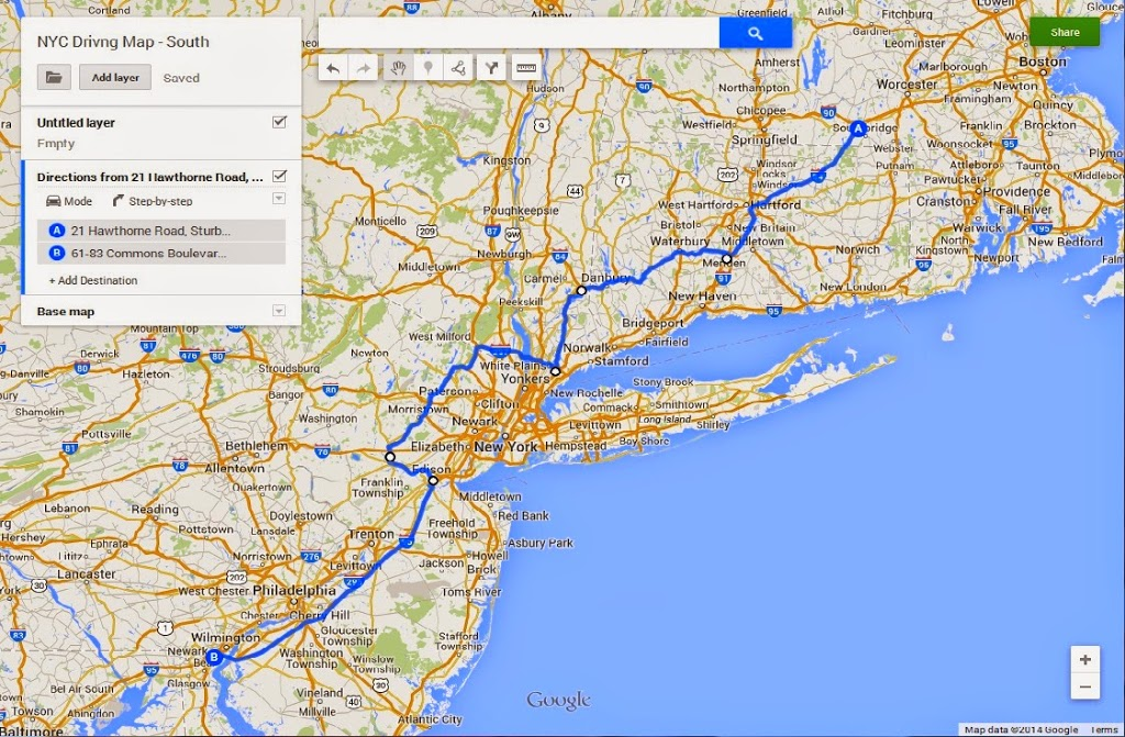 Map Of Route 684 In New York.How To Drive An Rv Through The New York City Area J Dawg Journeys