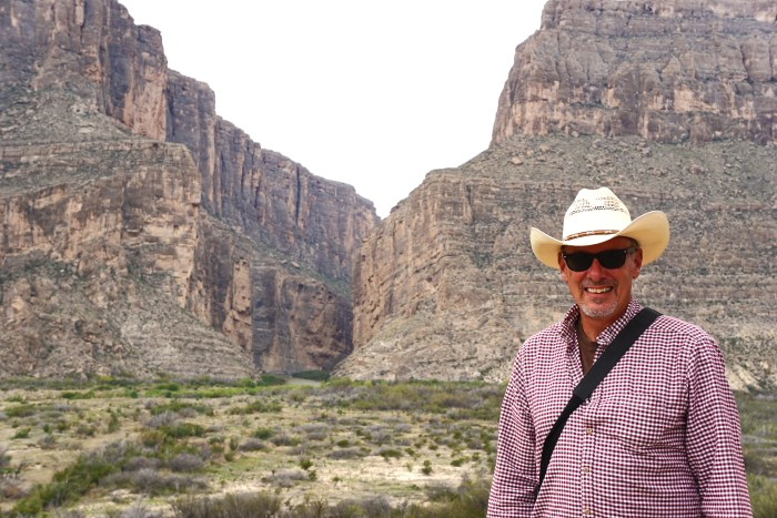 J. Dawg at Santa Elena Canyon Overlook