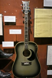 Johnny Cash's guitar he used on his TV show
