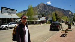 Elk Avenue with Crested Butte
