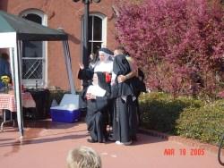 Nuns in the Beergarten