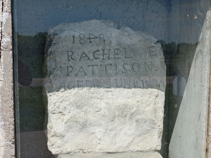 Rachel Pattison Grave Site