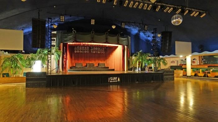 Surf Ballroom stage