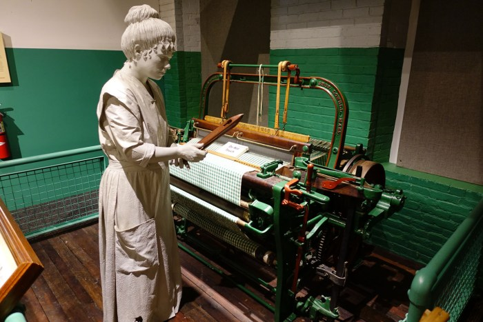 Mill girl weaver