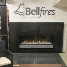 Bellfire Display in Showroom