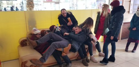 'Andrew has fun on a trip for Kharkiv's
