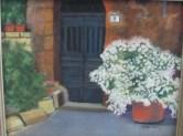 M flowers door