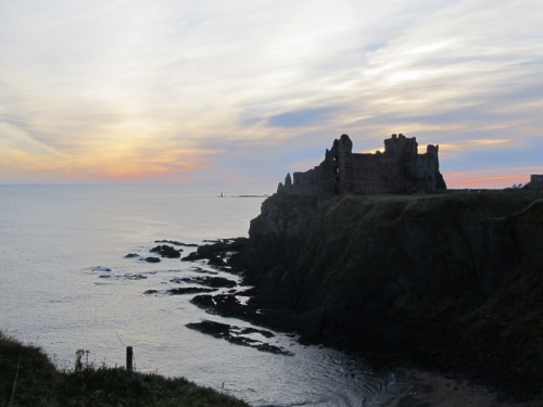 Tantallon at Dawn