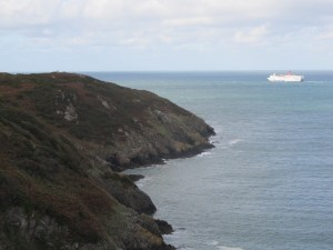 Carregwastad Point, where the French landed