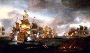 Not that sort of gun fleet: James, Duke of York's fleet at the Battle of Lowestoft, 3 June 1665