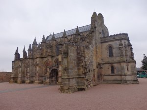 Rosslyn Chapel: small but perfectly (if peculiarly) formed