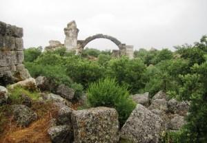 The ruins of 'Troas Alexandria'