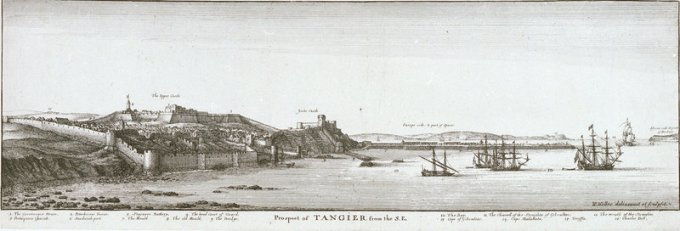 Tangier under English rule, by Wenceslas Hollar