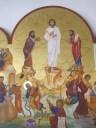 Icon of the Transfiguration in Anjara, Jordan.