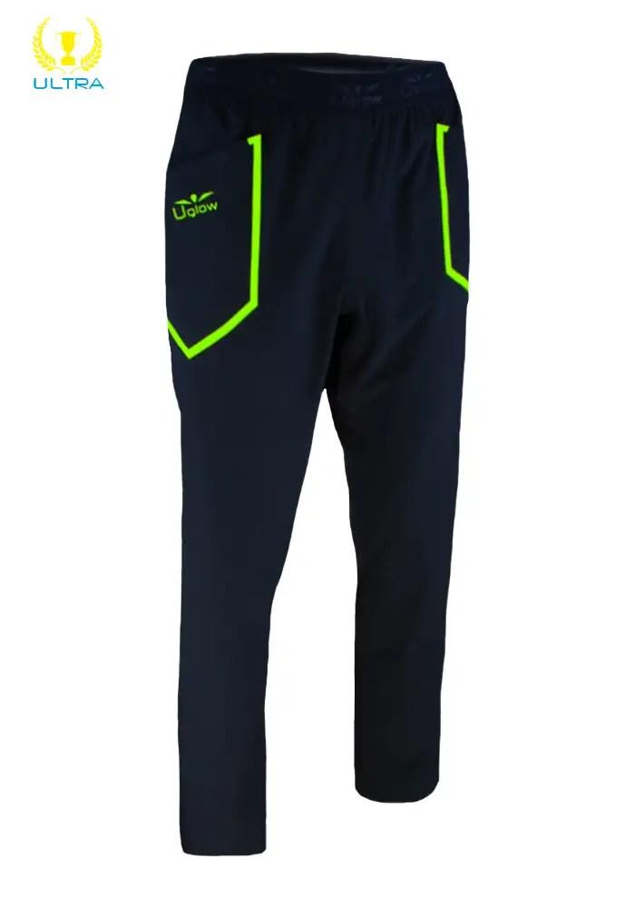 Pantalon de Chandal Uglow RP2 Negro/Amarillo
