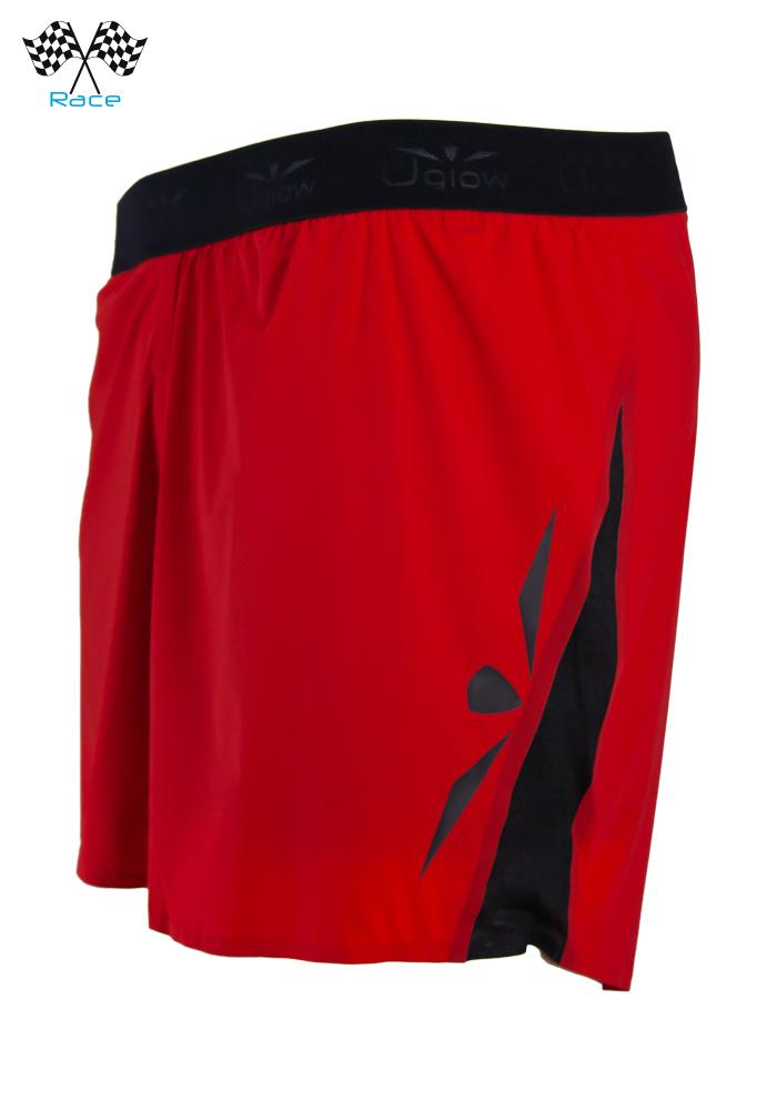 Short 5 Hombre Uglow Race S4 Rojo/Negro