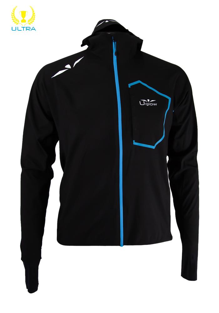 Impermeable Hombre Ultra Rain Jacket RJ4 Negro/Azul