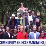 Black Community Leads As New Yorkers Are United Against Vaxx Mandates