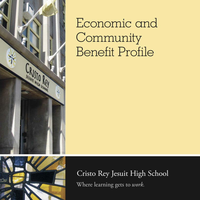 Cristo Rey Jesuit Economic Benefit Profile