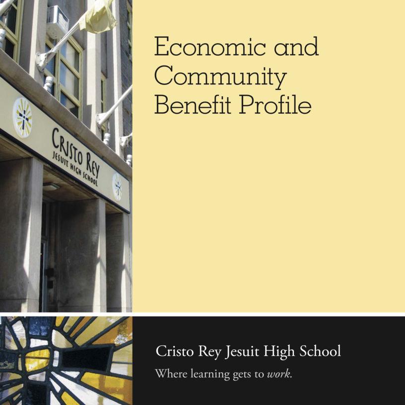 Cristo Rey Jesuit EconomicBenefit Profile
