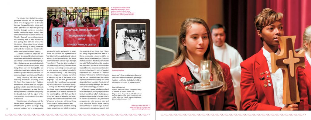 Mercy High School Red Magazine
