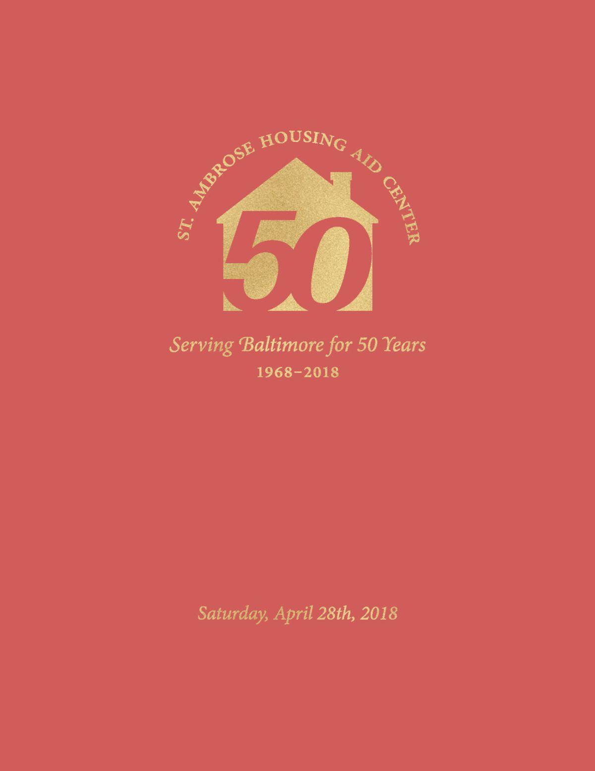 St. Ambrose 50th Anniversary Program